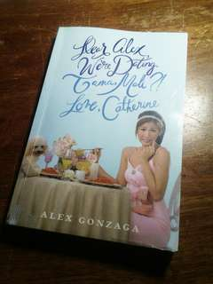 "BOOK FOR SALE! ""Dear Alex We're Dating. Tama, Mali?! Love,Catherine"""