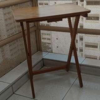 Foldable Wooden Table