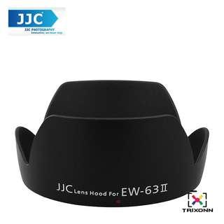 JJC LH-63ii Lens Hood for Canon EF 28-105mm f/4.0-5.6 USM 28mm F1.8 Camera Lens ( EW-63II )