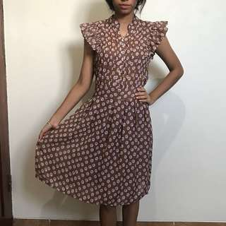 (RS)Vintage Brown Dress