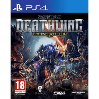 [NEW NOT USED] PS4 Space Hulk: Deathwing Enhanced Edition Sony PlayStation Koch Media Action Games