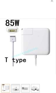 (In stocks)Brand New 85W MagSafe2 Power Adapter T-tip Charger For Apple MacBook Pro 15''17'' A1398/A1424