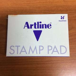Art line stamp pad