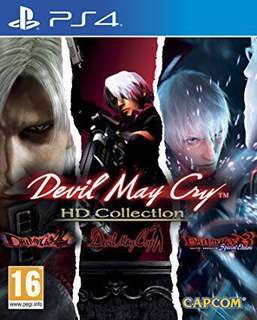 PS4 Devil May Cry HD Collection R3 Asia