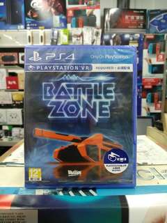 🆕 PS4 Battlezone ( Playstation VR )