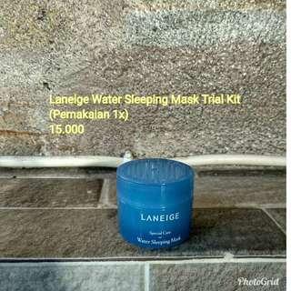 Laneige water sleeping mask trial kit