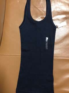 Gilly Hicks tank top navy size: xs