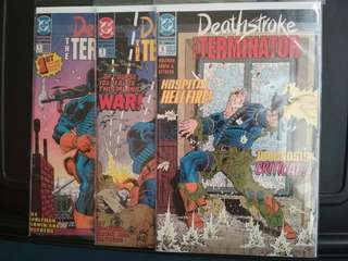 DC Deathstroke 1991 series. Solid copies