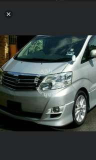 ALPHARD FOR RENT