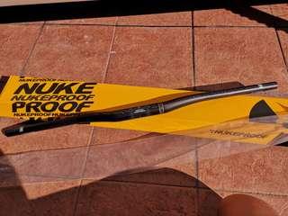 New Nukeproof Carbon riser (carbon handle bar) Horizon Carbon riser.  31.8mm,  rise 12mm, length 780mm.   $120.     96510228