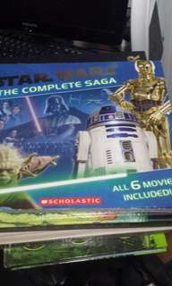 Star Wars Complete Saga 6 in 1 Book