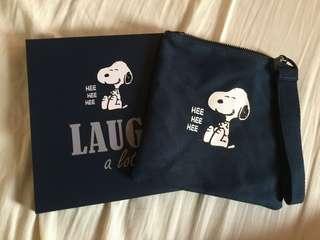 innisfree X Snoopy 收納包