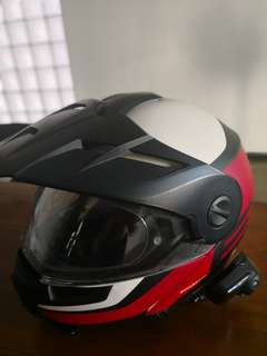 Schuberth E1 size L. Sena not included