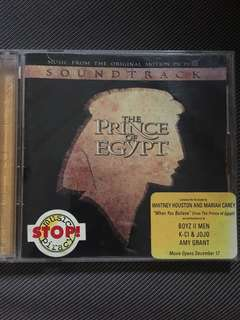 THE PRINCE OF EGYPT SOUNDTRACK CD