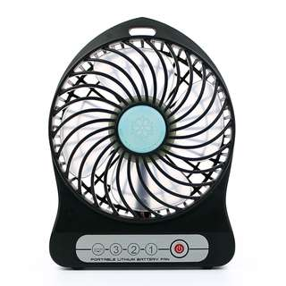 充電式便攜 強力風扇 - Rechargeable Lithium Battery Portable Fan - A0771