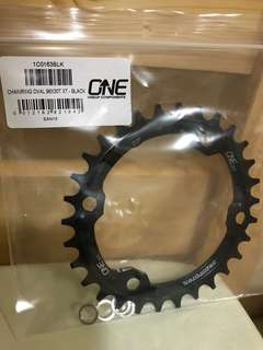 Chainring Oval 30T XT Black