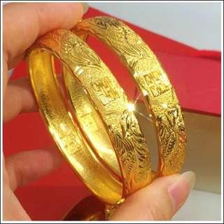 Gold / Golden Color Bracelet 1 pc #A3