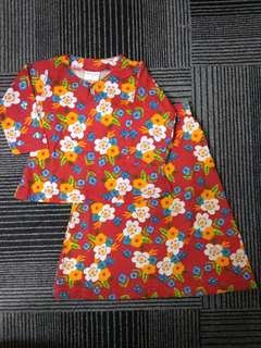 Humaira kids (Baju Kurung Raya Baby) - Kod HP 06   Size :  S (6m - 1 yrs) M (1-2 yrs L (3 yrs) XL (4 yrs)