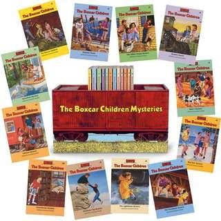 eBook - The Boxcar Children Mysteries by Gertrude Warner (12 Book Set)