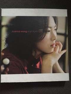 JOANNA WANG - START FROM HERE CD