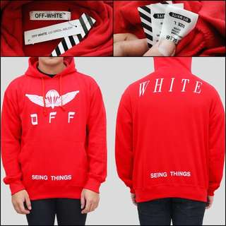 Sweater OFF WHITE Red