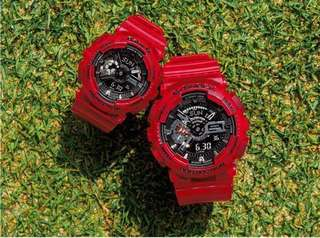 Casio Baby G & G-Shock Couple Model