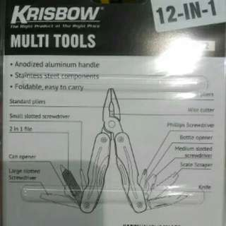 KRISBOW multi tools 12in1 6""