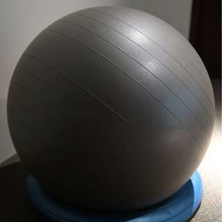 Exercise Ball with Stand