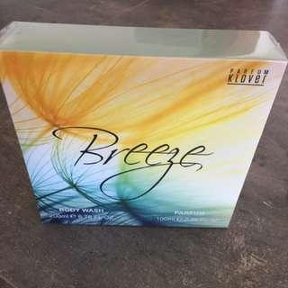 Parfum klover breeze gift set