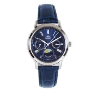ORIENT SUN & MOON BLUE DIAL WOMENS WATCH RA-KA0004L RA-KA0004L00C