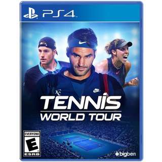 [NEW NOT USED] PS4 Tennis World Tour Sony PlayStation Maximum Sports Games
