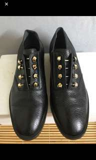 Authentic Balenciaga  Leather shoes,size 36 and 1/2,100%new,not yet use,bought it 635 Europe