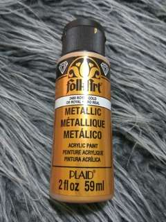 Folkart Metallic Acrylic Paint