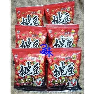 (台灣) 旺旺挑豆- 椒麻豆果 1袋450公克(25包)【4710144910085 】