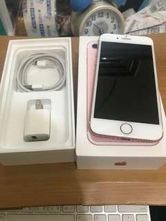 iPhone7 32g 4.7吋 玫瑰金