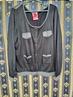 Bayo black Toy Soldier Cardigan