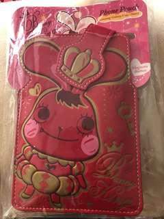 皮革電話套