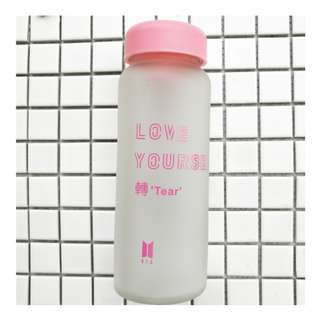 WATER BOTTLE 水樽 BTS BANGTAN BOYS LOVE YOURSELF 承 HER 450ML