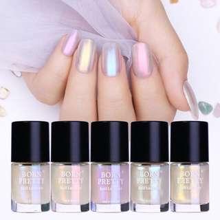 🦋Shell Glitter Bright Polarized Manicure Nail Art Polish🦋