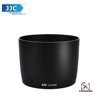 JJC LH-64II Lens Hood for Canon EF 75-300mm f/4-5.6 IS USM Lens Camera Lens ( ET-64II )
