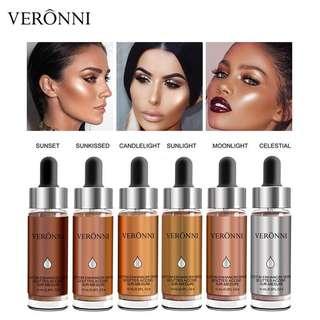 🦋VERONNI Makeup Liquid Highlighter Make Up Highlighter Cream Concealer🦋