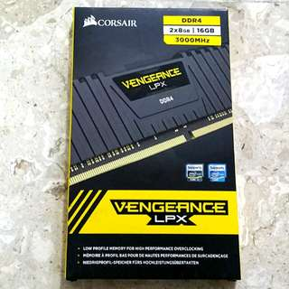 Corsair Vengeance LPX DDR4 2x 8gb = 16gb 3000mhz RAM memory for desktop computer