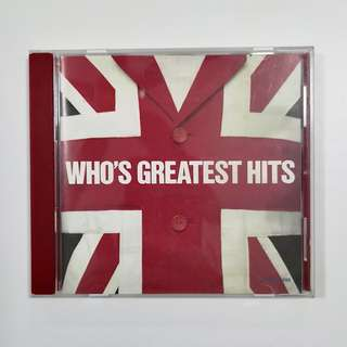 The Who 'Who's Greatest Hits' CD