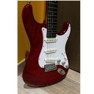 Vintage Blade Levinson R-4 1992 Strat Copy Guitar (Fender, Stratocaster)