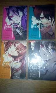 (Free post!)komik another vol 1-4 end manga