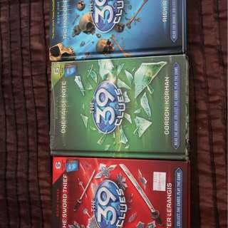 39 Clues Series Books x 3