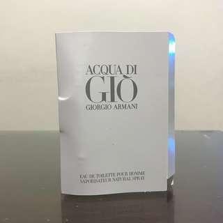Acqua di Gio Pour Homme EDT by Giorgio Armani Vial