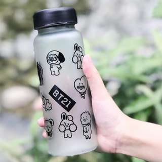 WATER BOTTLE 水樽 BTS BANGTAN BOYS BT21 450ML