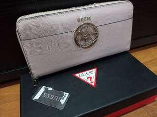 NEW GUESS blush wallet/clutch