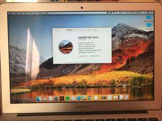 MacBook Air 13-inch 2017 Silver